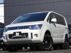 デリカD:5Dパワーパック4WD 両側Pスラ 新品AWタイヤセット ナビ