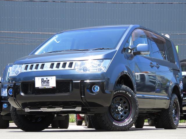 三菱 GパワーPKG 4WD Amzキャンパー 両Pスラ 新品AW