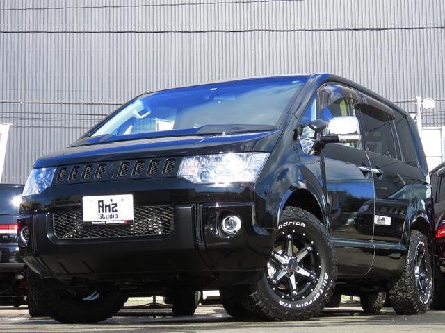 三菱 Dパワーパック4WDブラックED 地デジナビ 新品AWセット