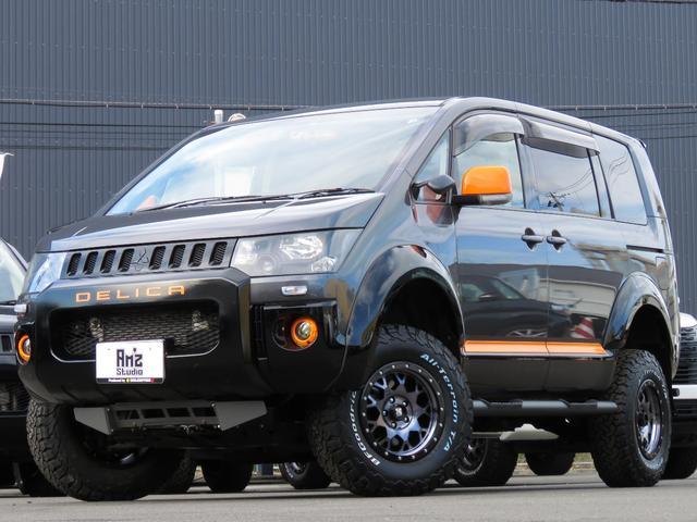 アクティブギア 4WD Amz5inリフトアップ エディション 新品AWタイヤセット 両側Pスライド