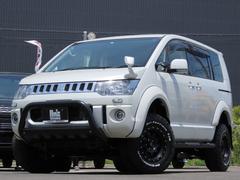 デリカD:5D パワーパッケージ 4WD AmzStudio 4inアップ仕様 両側Pスライド 新品AWセット 地デジナビ 寒冷地仕様車