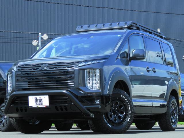 三菱 G パワーパッケージ 4WD AmzStudio 1.2UPキャンパー仕様 リヤバックアーマー 新品AWセット レダクル&衝突軽減 ステリモ アラビューモニタ 両側Pスライド 後Pゲート