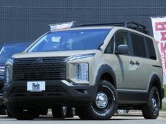 デリカD:5M 4WD Am'zStudio BKエディション 1.2UPヴィンテージ仕様 新品AWセット 左Pスライド レダクル&衝突軽減 社外サンルーフ