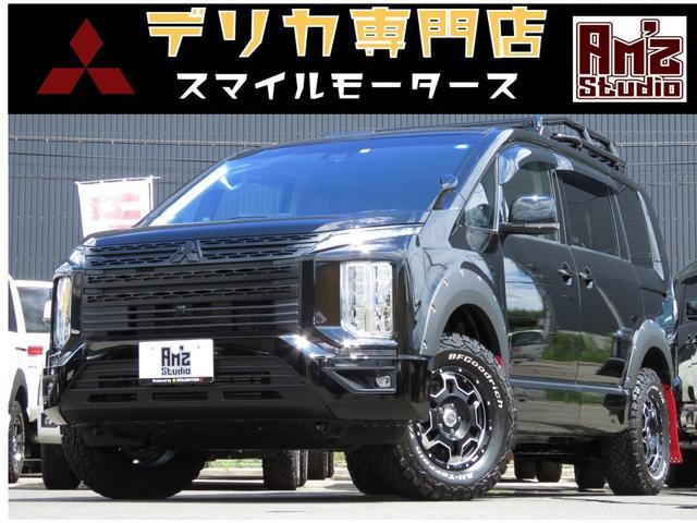 三菱 G パワーパッケージ 4WD AmzStudio BK-ED キャンパー1.2UP仕様 ベットキット 新品AWセット レダクル&衝突軽減 アラビューモニター ステアリモコン 両側Pスライド 後Pゲート