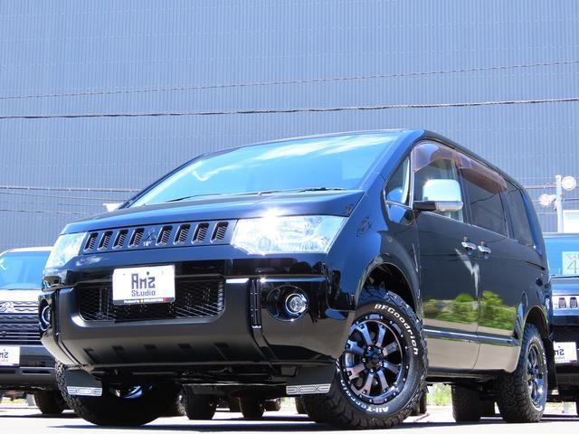 三菱 デリカD:5 G プレミアム 4WD AmzStudio BKエディション 新品AWセット 両側Pスライド