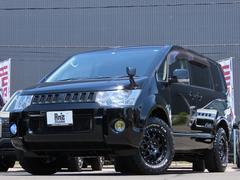 デリカD:5G パワーパッケージ 4WD Am'zStudio BKエディション 新品AWセット 両側Pスライド 地デジナビ