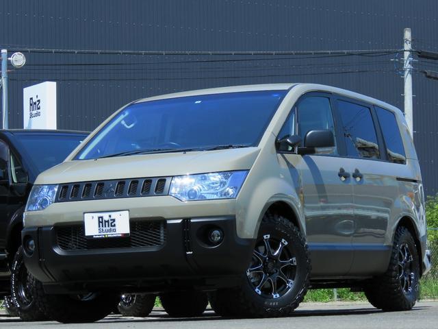 三菱 G パワーパッケージ 2WD Am'zStudio BKエディション ヴィンテージ仕様 新品AWセット バンバーガード 両Pスライド