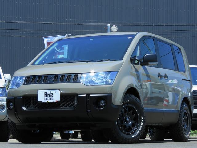 三菱 G パワーパッケージ 2WD Am'zStudio BKエディション ヴィンテージ仕様 新品AWセット 両Pスライド