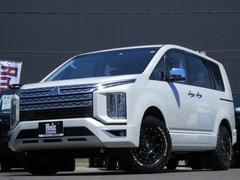 デリカD:5P 4WD AmzStudio 新品AWセット レダクル&衝突軽減 アラビューモニター ステリモ 両側Pスライド 後Pゲート