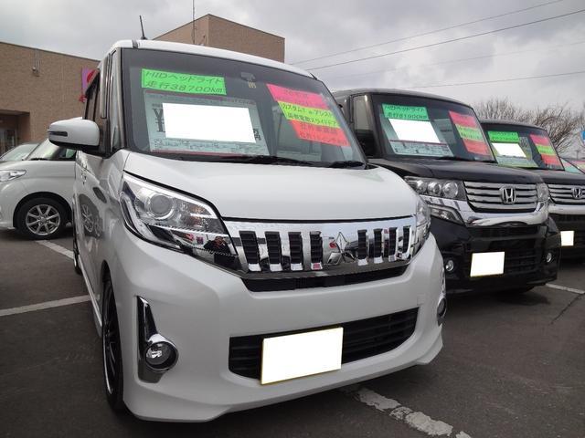 三菱 カスタムT e-アシスト 4WD 社外車高調 社外16AW