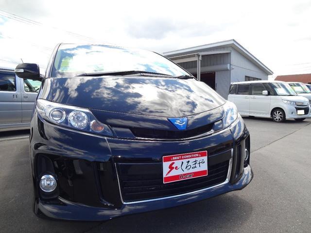 トヨタ アエラス 4WD 両側電動スライドドア パワーバックドア