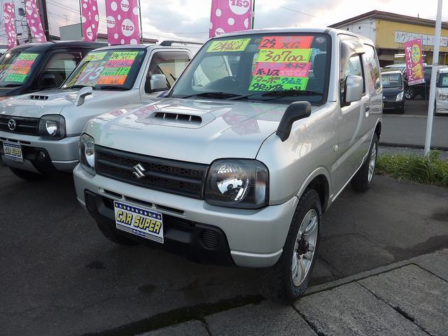 スズキ XG 4WD キーレスエントリー ターボ アルミホイール 衝突安全ボディ ABS エアコン
