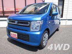 ワゴンRFA 4WD 5MT キーレスエントリー 盗難警報装置