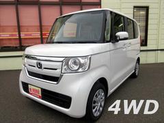 N BOXG 4WD ECON キーフリー 電動格納ミラー
