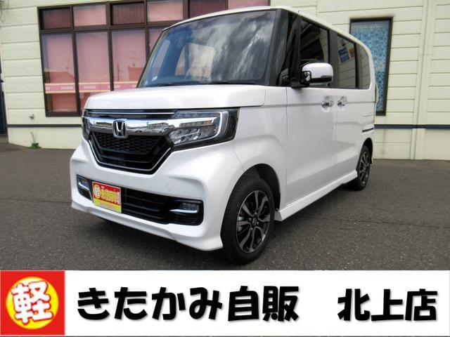 ホンダ N-BOXカスタム G・Lホンダセンシング 4WD オートエアコン キーフリー