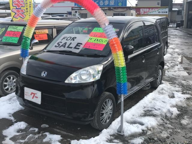 ホンダ F 4WD CD キーレス HDDナビ 社外AW 軽自動車