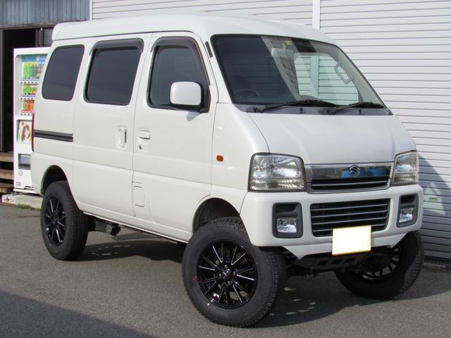 スズキ ジョイポップターボ 4WD リフトアップ HID 社外ナビ