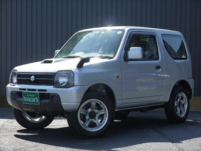 スズキ XG 5速MT JB23W7型 パートタイム4WD 社外オーディオ フロントAUX