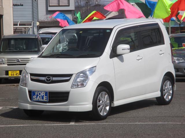 マツダ AZワゴン XSスペシャル4WD プッシュスタート 運転席シートヒーター