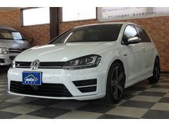 VW ゴルフRベースグレード Discoverpro 黒革シート 禁煙車