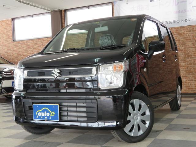ワゴンR ハイブリッドFX 4WD 届出済み未使用車 ブラック内装 フルオートエアコン シートヒーター