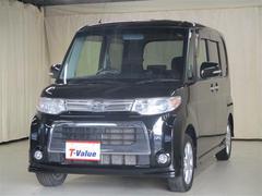 タントカスタムX 4WD 電動スライドドア メモリーナビ フルセグ