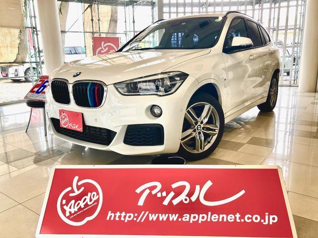 BMW X1 xDrive 18d Mスポーツ アダプティブクルーズコントロール 電動リアゲート 純正ナビ ミラーETC 地デジチューナー Mスポーツ純正18インチアルミ