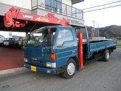 タイタントラック3.5t積4段セルフクレーン