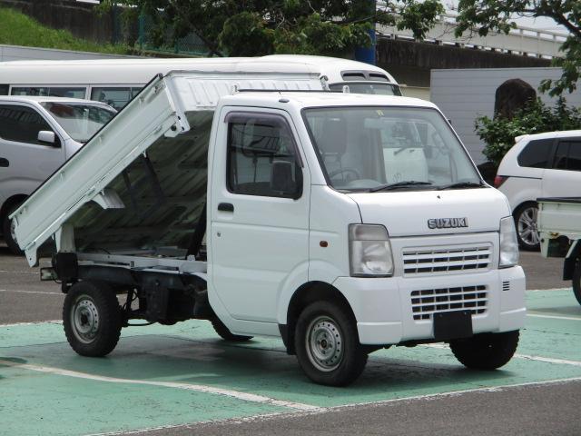 スズキ キャリイトラック キンタロウダンプ 4WD 5速マニュアル パワステ エアコン