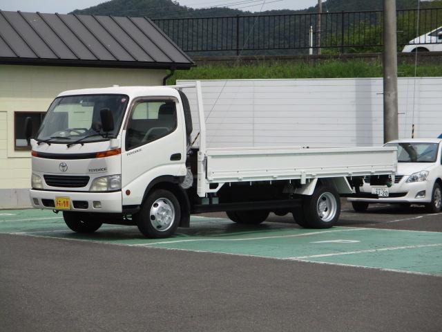 トヨタ  ワイドロング 3t積 6速マニュアル 走行8万キロ台