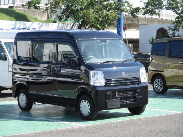 日産 NV100クリッパーバン GXターボ 4WD ハイルーフ 軽減ブレーキ キーレス