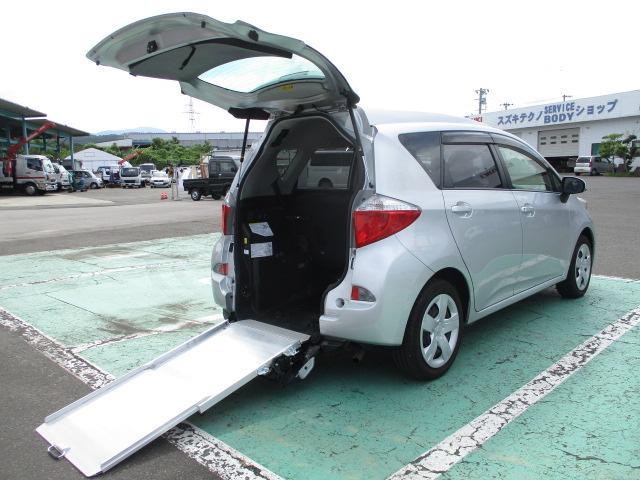 トヨタ ラクティス  G 車いす仕様車 タイプ1 助手席側リヤシート付