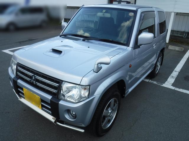 三菱 パジェロミニ VRターボ シートヒータ 4WD (車検整備付)