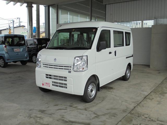 スズキ エブリイ PA エアコン/パワステ/4WD