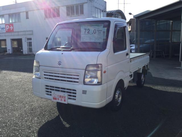 スズキ FC /エアコン/パワステ/パートタイム4WD/5速マニュアル