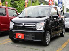 ワゴンRハイブリッドFX 4WD スズキセーフティーサポート ブラック内装