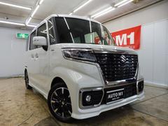 スペーシアカスタムハイブリッドXS 4WD 届出済未使用車