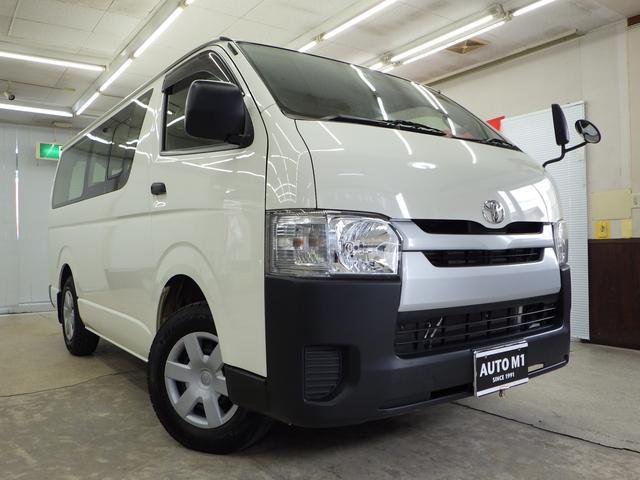 トヨタ ロングDX 4WD 5MT 9人乗 スタッドレスタイヤSW付