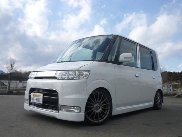 ダイハツ カスタムL J-LINEプレミア仕様 タナベ車高調