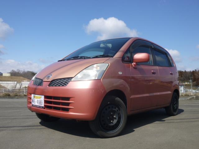 日産 Qタイプ 4WD オートエアコン ベンチシート