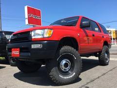 ハイラックスサーフSSR−X ワイド 4WD リフトアップ