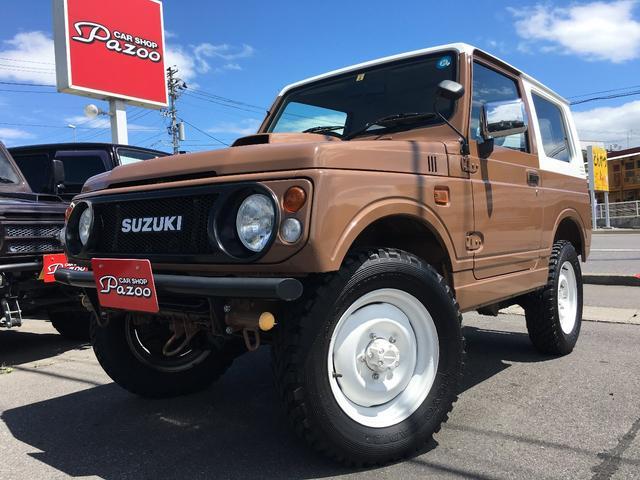 スズキ XS 4WD JA12型 リフトアップ マッドタイヤ