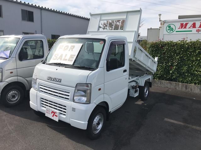 スズキ ダンプ 4WD AC 5速マニュアル 軽トラ