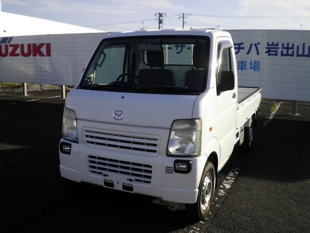 マツダ  4WD パワステ エアコン エアバック 作業灯
