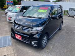 N−WGNカスタムG 4WD スマートキ− HIDライト CD ABS
