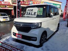 N BOXカスタムG・EXホンダセンシング 4WD 届出済未使用車