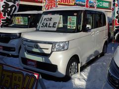 N BOXG・EXホンダセンシング 4WD 届出済未使用車