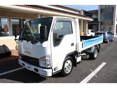 エルフトラック2tダンプ強化 全低床 5MT エアバック ABS キーレス