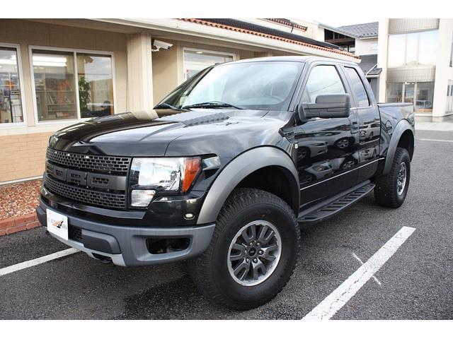 フォード STVラプター スーパーキャブ 4WD 黒革シート 新並