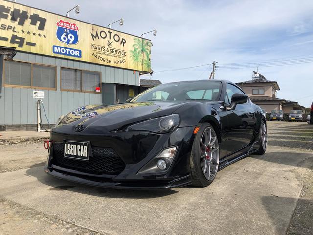 トヨタ GT 車高調 エキマニマフラー 18アルミ ナビTV エアロ